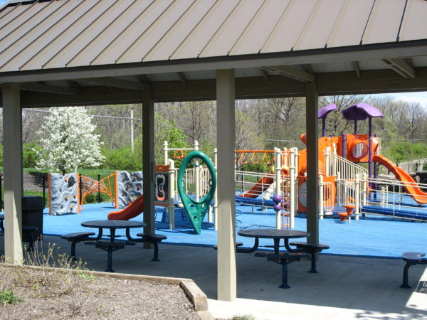 The playground at Sharon Woods
