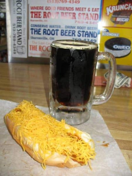 Chili Dog at the Root Beer Stand in Sharonville