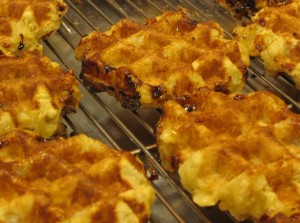 Taste of Belgium waffles