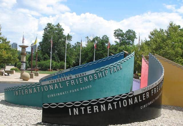 berry international friendship park signs