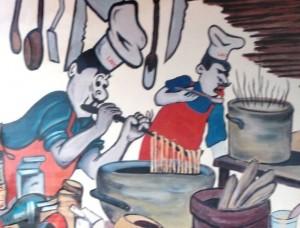 larosas pizza mural