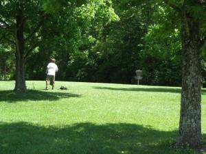woodland mound frisbee golf course