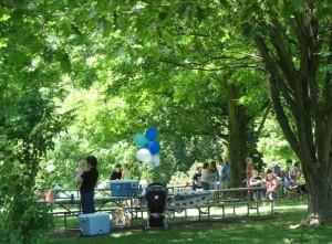 woodland mound picnic area