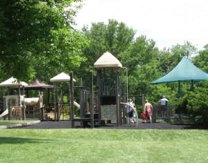woodland mound playground
