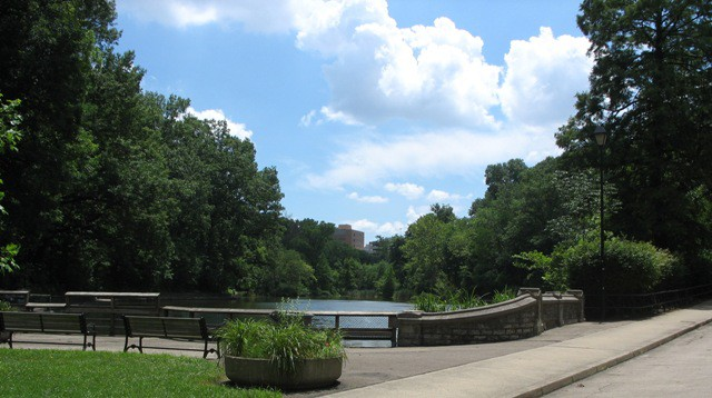 burnet woods lake cincinnati parks