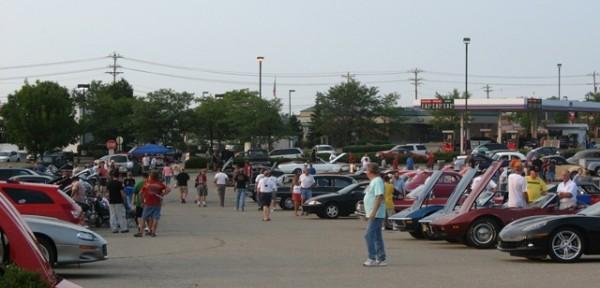 Day Milford CruiseIn Car Show CINCINNATI - Milford cruise in car show