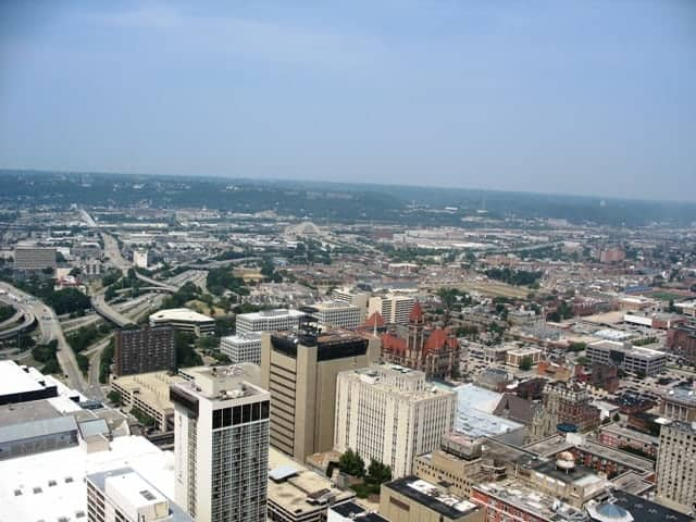 carew tower observation deck view cincinnati