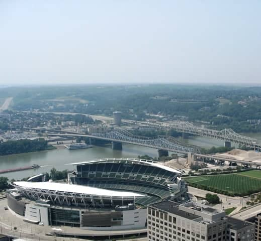 Paul Brown Stadium in Cincinnati Ohio