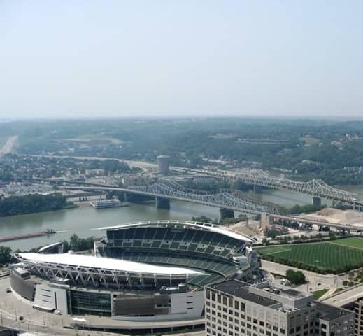 Paul Brown Stadium in Cincinnati Ohio