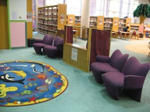 Day 140 – The Children's Section of the Library Downtown