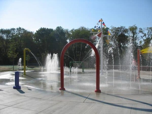 clippard park water feature