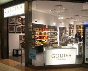godiva chocolate kenwood mall