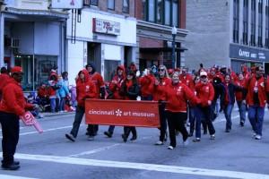 cincinnati reds opening day parade art museum