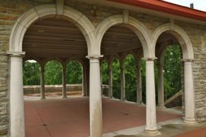 alms park pavilion cincinnati parks
