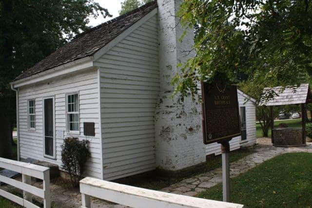 Ulysses Grant birth place Pt. Pleasant Ohio