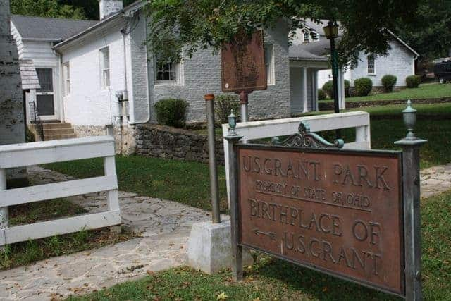 Ulysses Grant Birth Place Pt Pleasant Ohio
