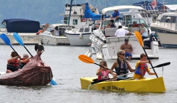 new richmond ohio cardboard boat regatta