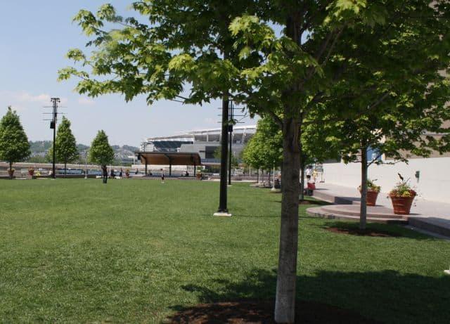lawn smale riverfront park