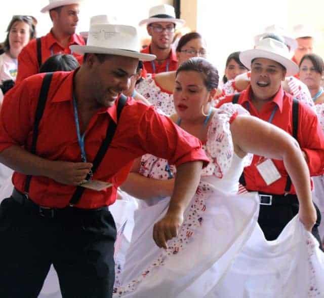 world choir games parade - Puerto Rico
