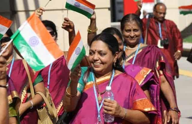 world choir games parade -  India