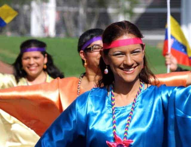 world choir games parade - venezuela