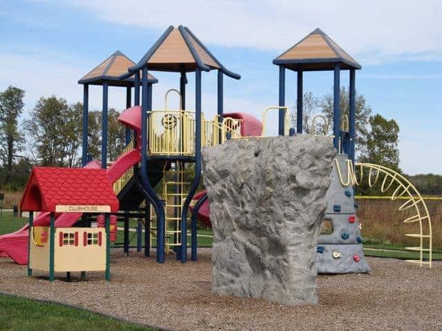playground at heritage park colerain ohio