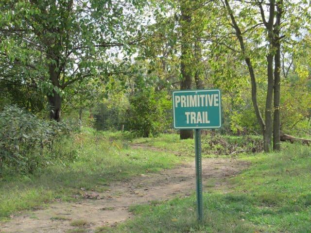 primitive trail at heritage park colerain ohio