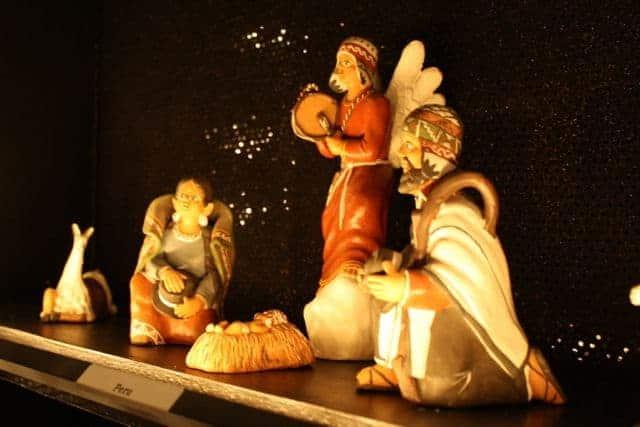 spirit of christmas tour nativity sets at st francis