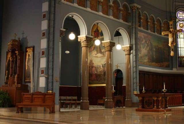 spirit of christmas tour st francis altar