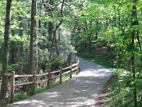 sharon woods walking trails