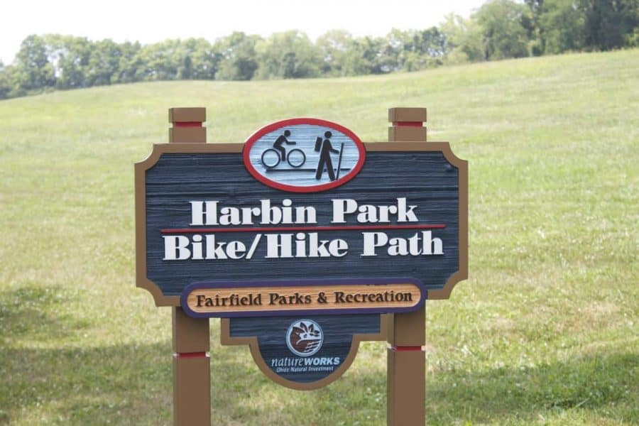 harbin park bike trails in fairfield