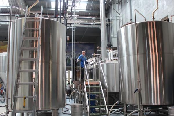 tanks at rhinegeist brewery cincinnati