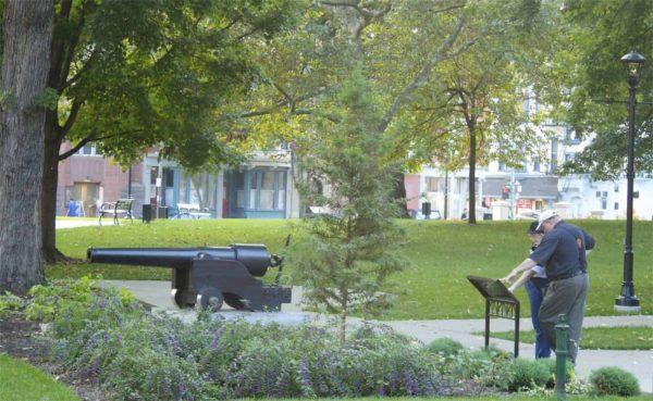 washington park in Cincinnati Oho