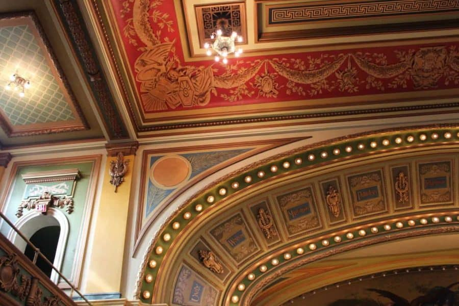 Memorial Hall in Cincinnati, Ohio