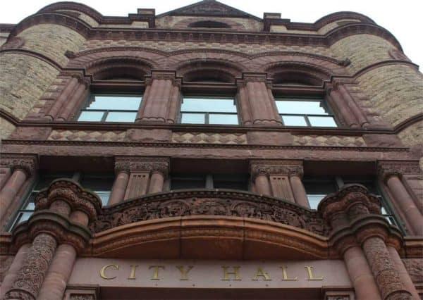 Cincinnati City Hall on Plum Street