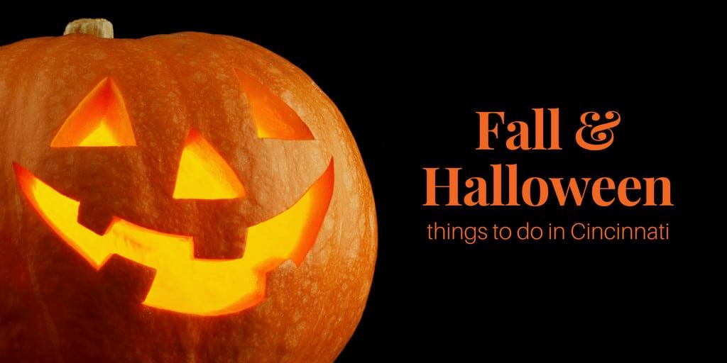 fall and halloween fun for cincinnati, ohio