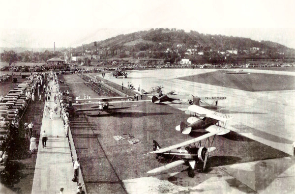 Lunken Airport in the early 1930's