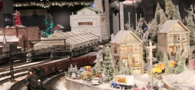 Holiday Trains at the Cincinnati Museum Center