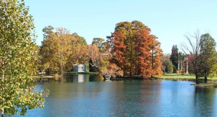 Spring Grove Cemetery in the fall