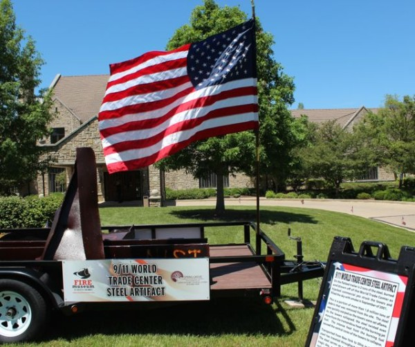 World Trade Center tribute at Spring Grove Cemetery