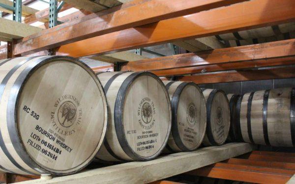 Barrels of Wilderness Trail Bourbon