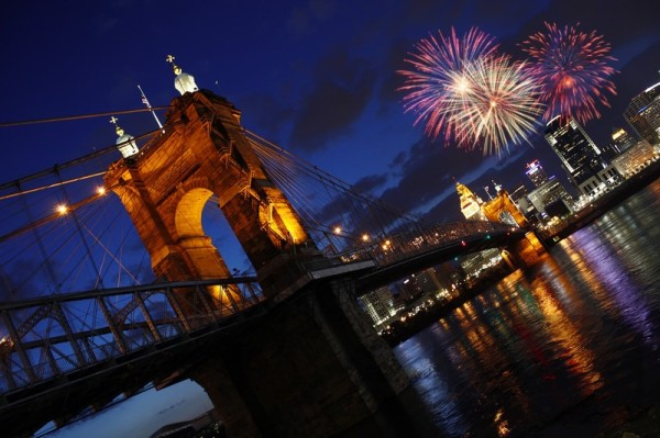 4th of July Fireworks and Events in Cincinnati {2019}