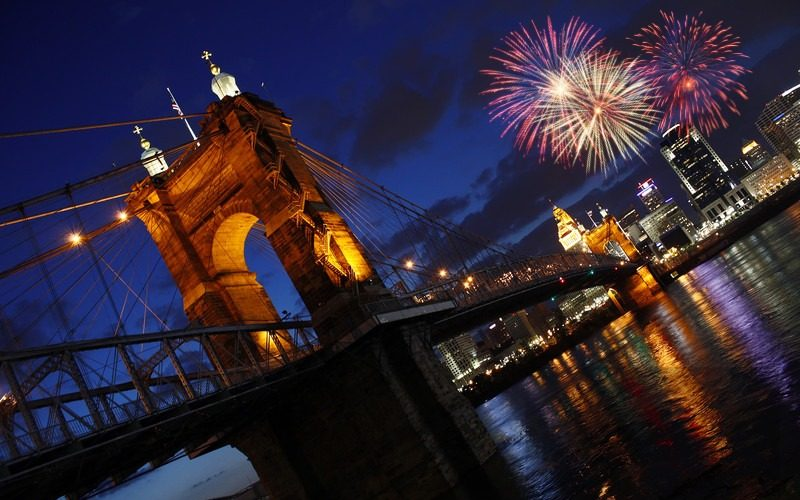 4th of July Fireworks in Cincinnati