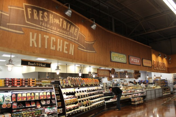 Deli section at Fresh Thyme Farmers Market in Oakley