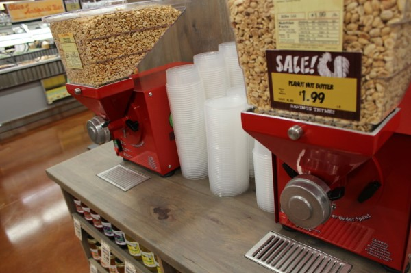 grind your own peanut butter at Fresh Thyme Farmers Market in Oakley