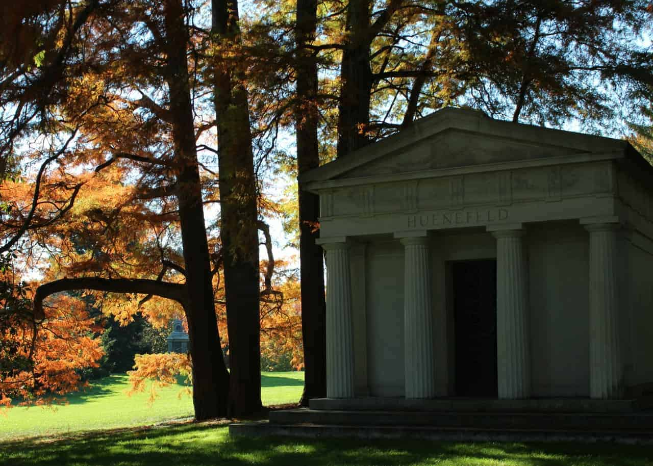 colors of fall at Spring Grove Cemetery Fall 2014