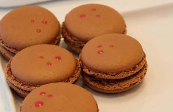 Chocolate Macarons at Macaron Bar in Cincinnati