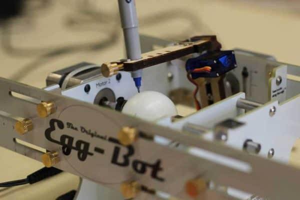 egg-bot at Cincinnati Library MakerSpace