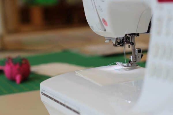 sewing machines at MakerSpace in Cincinnati Ohio