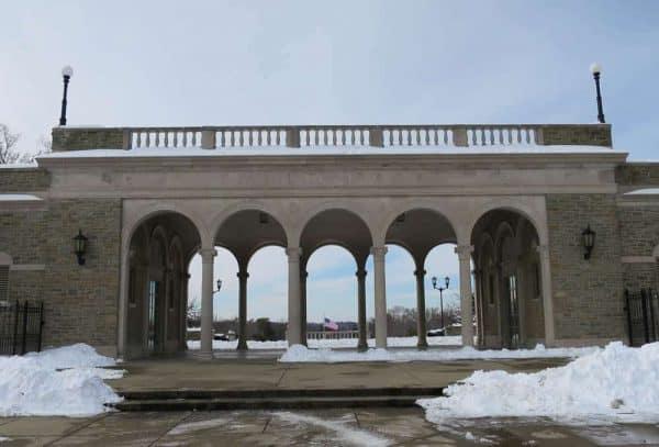 Ault Park Pavilion Arches